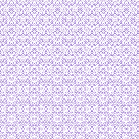 Snowflake_Lace_-lilac1 fabric by fireflower on Spoonflower - custom fabric