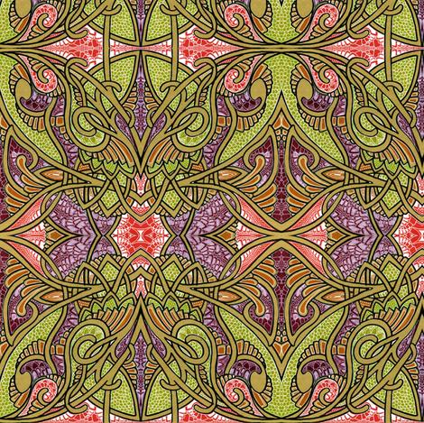 Spiffy Tiffy fabric by edsel2084 on Spoonflower - custom fabric