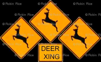 Deer Crossing and Crossing and Crossing