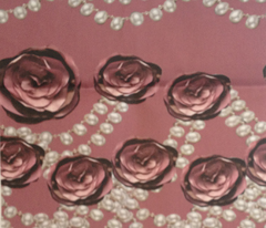 roses and pearls lined