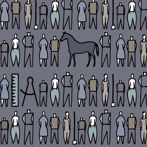 people_with_horse_grey