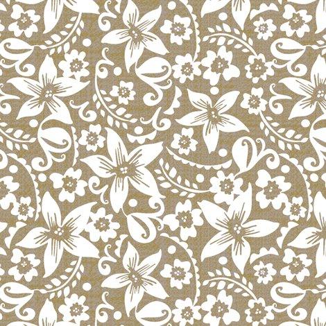 Neutral Floral Small Wallpaper Ottomanbrim Spoonflower