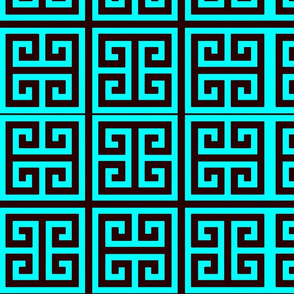 greek turquoise-ed