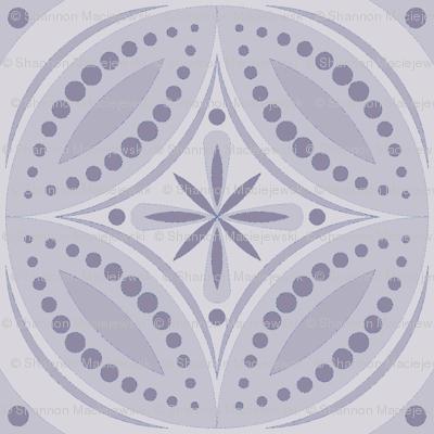 Moroccan Tiles (Pale Violet)