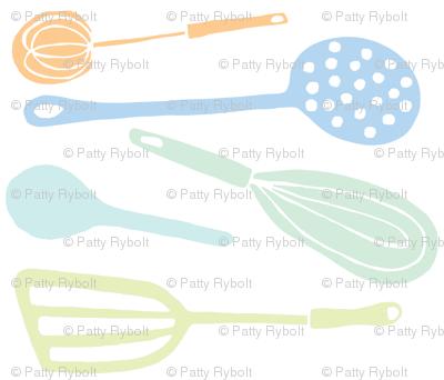Magic Kitchen Tools (multi-pastel)