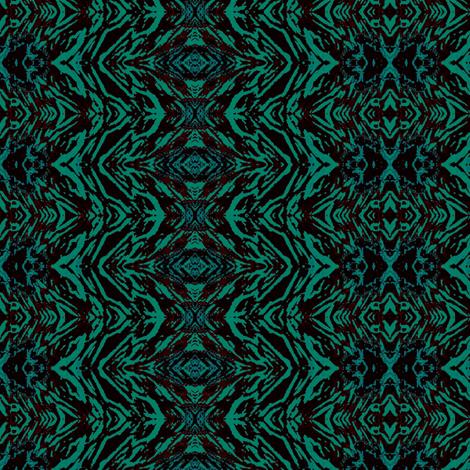 Medium green stripe fabric by dk_designs on Spoonflower - custom fabric