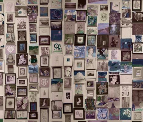 Gallery fabric by beckarahn on Spoonflower - custom fabric