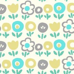 Hello Spring (blue)