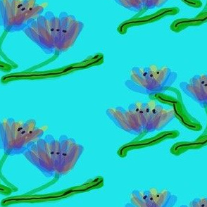 Translucent Flowers