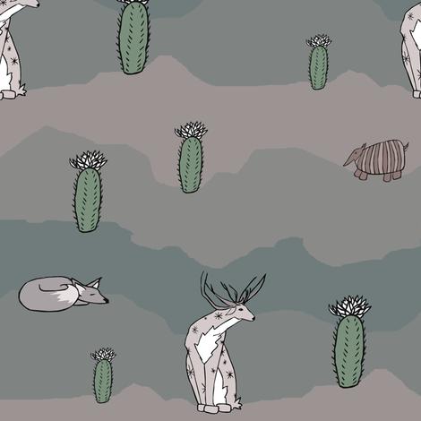 Desert Dream fabric by pond_ripple on Spoonflower - custom fabric
