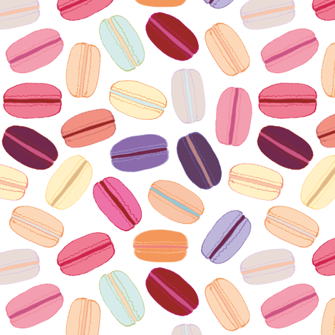 Macarons fabric by irina_radtke on Spoonflower - custom fabric