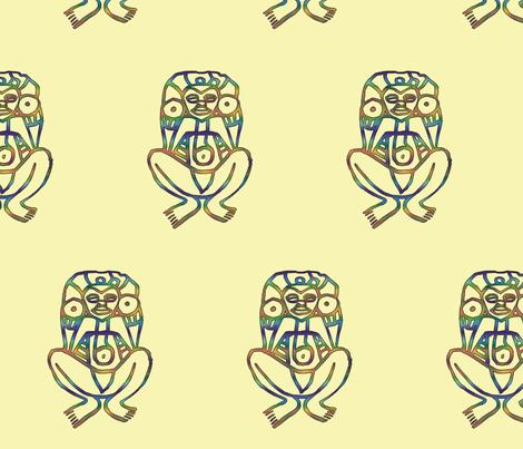 Atabey #3 fabric by technorican on Spoonflower - custom fabric