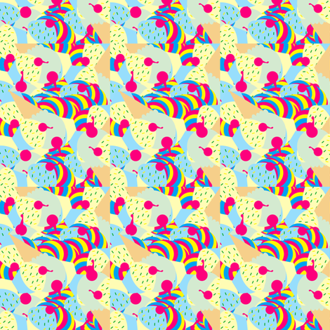 Sweet Dreams fabric by njavo95 on Spoonflower - custom fabric