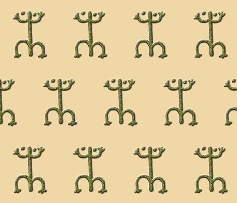coqui #1 fabric by technorican on Spoonflower - custom fabric