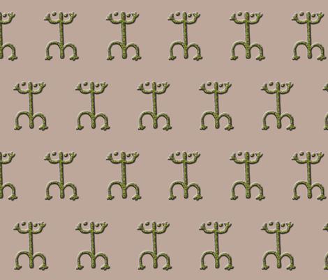 coqui #3 fabric by technorican on Spoonflower - custom fabric