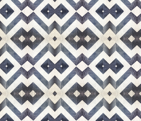 Chevron grey marble fabric by nascustomlife on Spoonflower - custom fabric