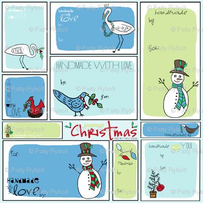 Holiday Handmade Gift Tags