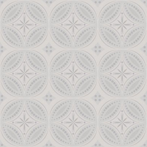 Moroccan Tiles (Pale Cool Gray)