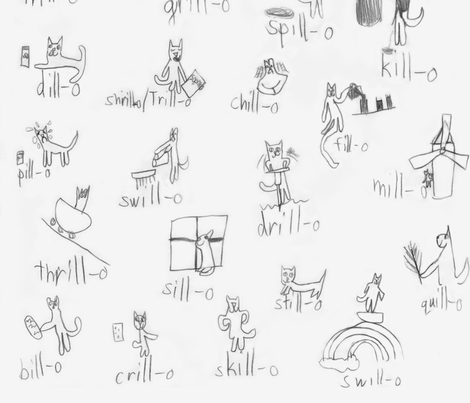 Will-o_fabric fabric by heatherdoodle on Spoonflower - custom fabric