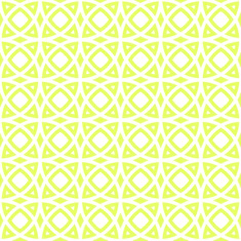 circles lime fabric by ravynka on Spoonflower - custom fabric