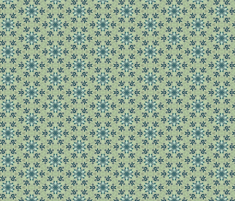 Vintage Green fabric by captiveinflorida on Spoonflower - custom fabric