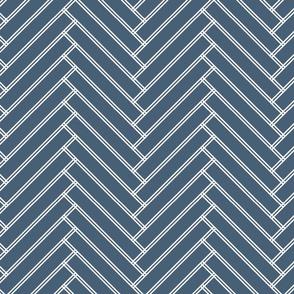 herringbone grayish navy
