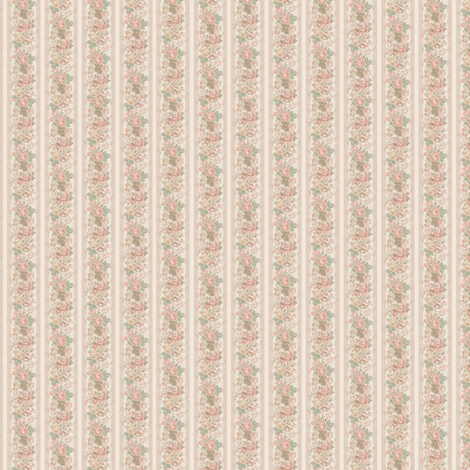 Small Scale Floral Lolita fabric by shadow-people on Spoonflower - custom fabric