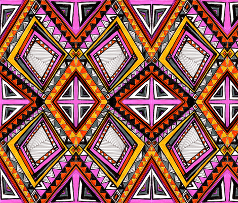 butterfly fabric by randi_antonsen on Spoonflower - custom fabric