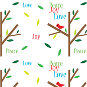 Peace Joy Love Holidays