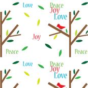 Peace Joy Love Holidays