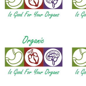 Organic Is Good For Your Organs Color