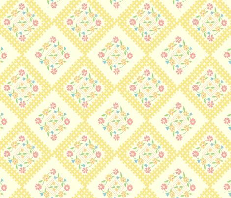 vintage6 fabric by kategabrielle on Spoonflower - custom fabric