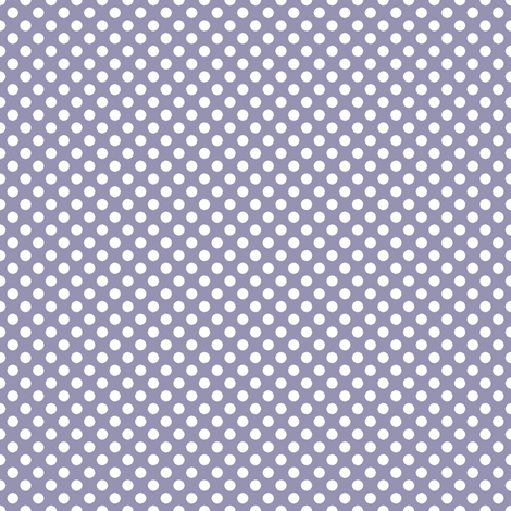 Purple Polka fabric by eleasha on Spoonflower - custom fabric