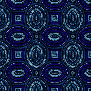 wavy circle pattern