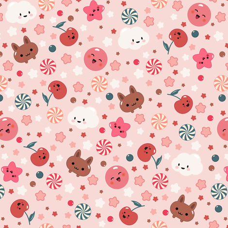 Sweetness fabric by kimsa on Spoonflower - custom fabric