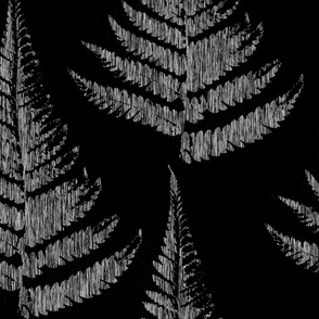 Fern Print - dark