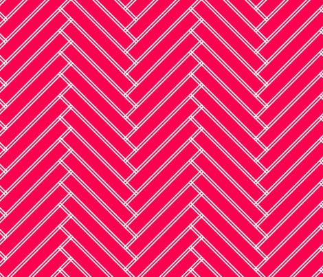 herringbone red  fabric by ravynka on Spoonflower - custom fabric