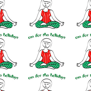 Holiday Yoga Om for the Holidays