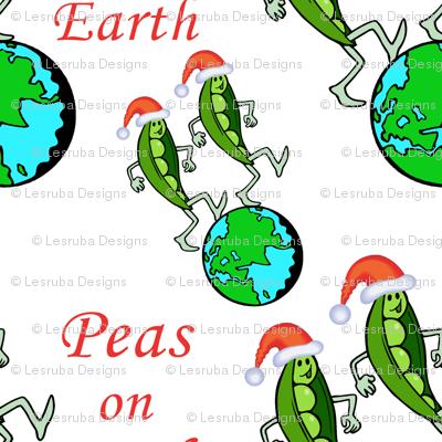Christmas Peas on Earth