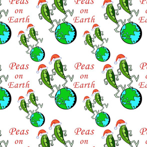 Christmas Peas on Earth
