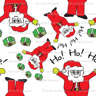 Santa Claus Christmas Pattern
