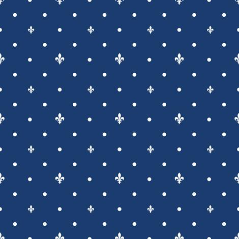 Quebec fabric by seabluestudio on Spoonflower - custom fabric