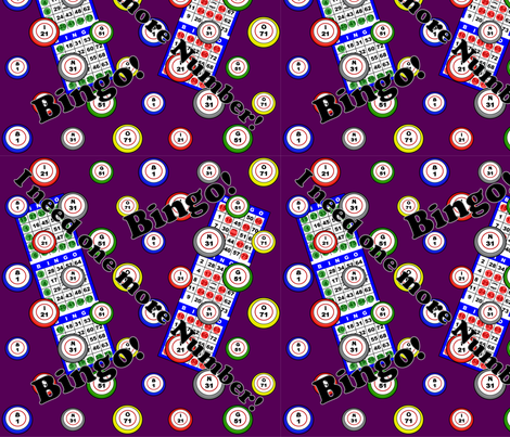 I need one more Number! fabric by dd_baz on Spoonflower - custom fabric