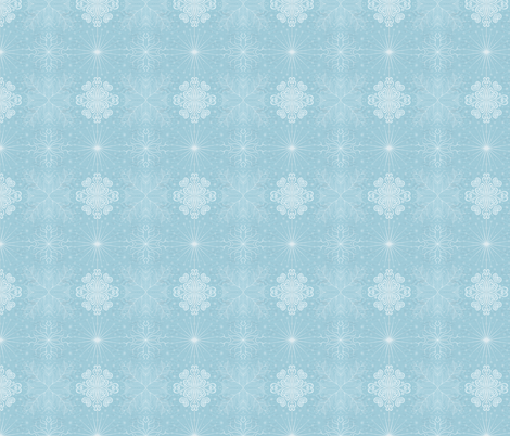 Kayi, Sky, Small fabric by katiame on Spoonflower - custom fabric