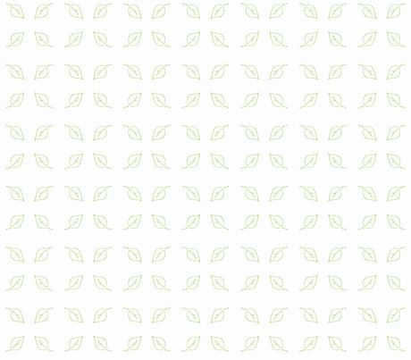 leaf green fabric by kerrysteele on Spoonflower - custom fabric
