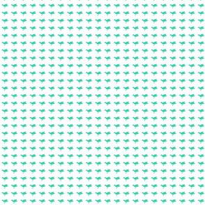 Birdsong - Aqua on White (Basic)