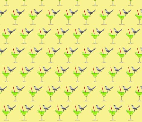 Tequila Mockingbird fabric by liveswithcorgi on Spoonflower - custom fabric