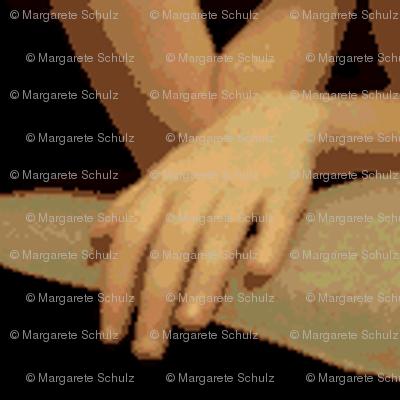 Hands (Mirror Repeat)