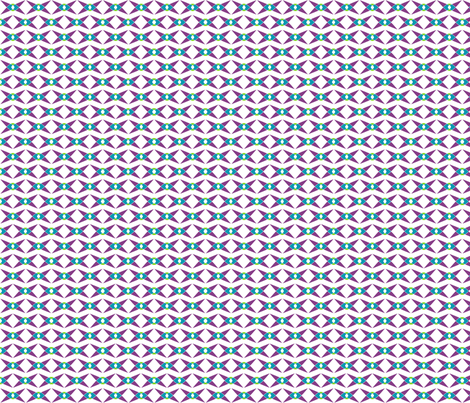 Bowtied (Half-Brick) fabric by lisulle on Spoonflower - custom fabric