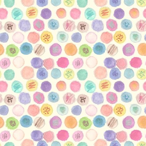 Macarons fabric by abbyg on Spoonflower - custom fabric